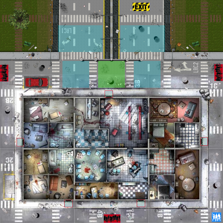 heroquest custom maps, zombie custom maps, warhammer custom maps, on zombicide custom maps