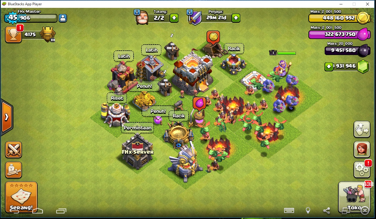 new fhx-x clash of clans download