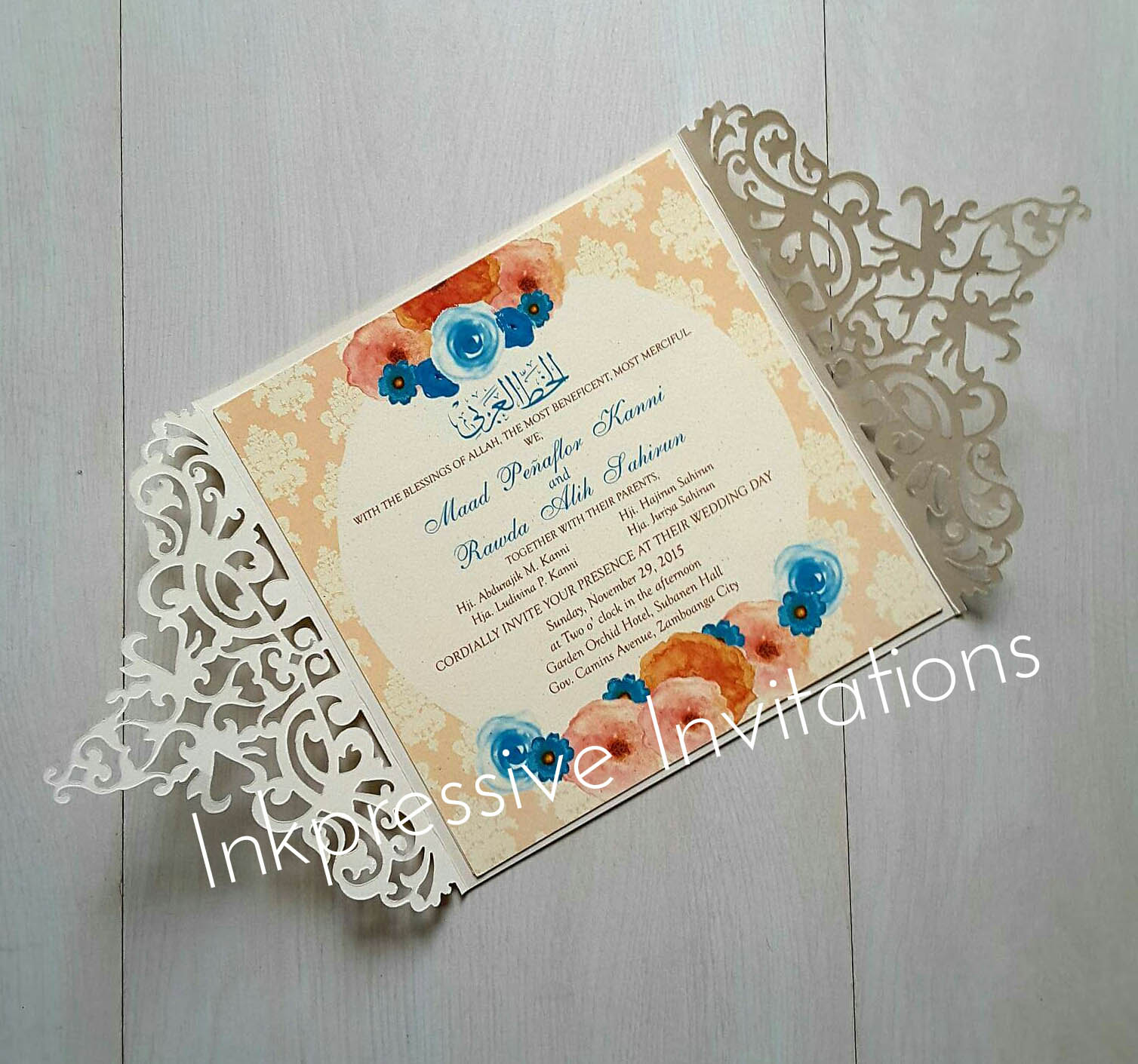 INKPRESSIVE INVITATIONS: Wedding Invitations by Inkpressive
