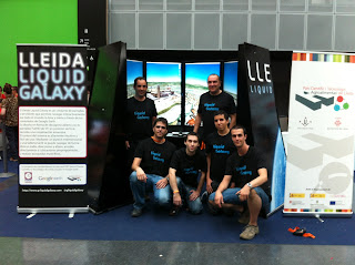 Team Lleida Liquid Galaxy en la Euskal Encounter 20 #ee20
