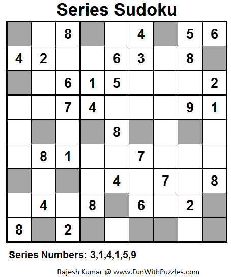 Series Sudoku (Fun With Sudoku #50)