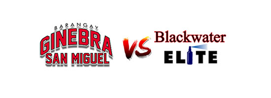Barangay Ginebra San Miguel vs Blackwater Elite - 7:00pm