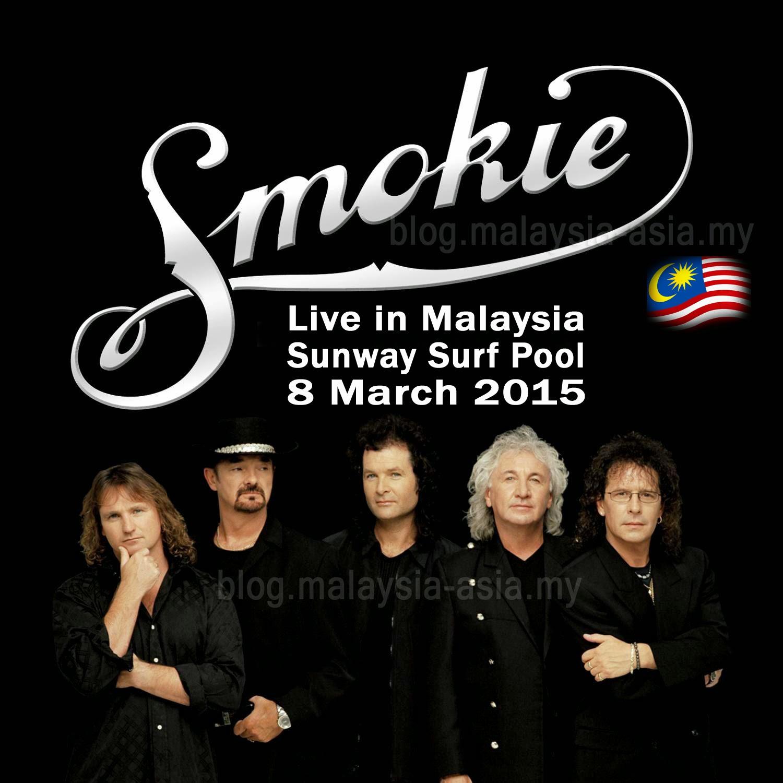 Smokie Band in Malaysia