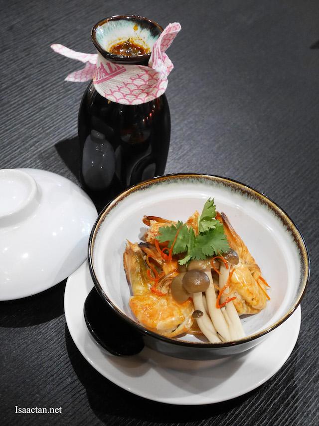 Tom Yum Soup With River Prawn - RM23.90