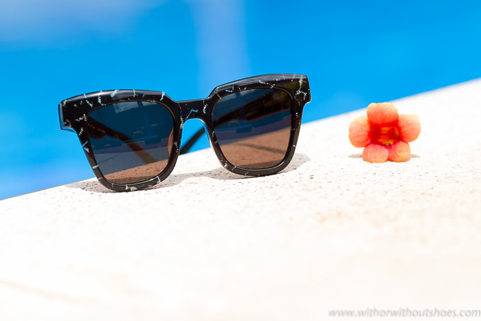 Last trends sunglasses MELAINE Black acetate