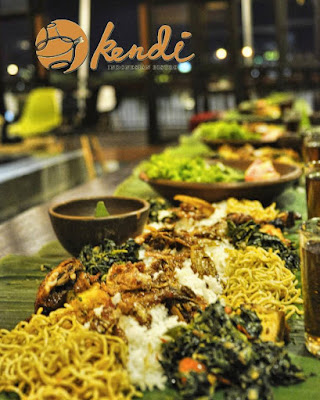Menu Sego (Nasi) Bancaan Kendi Indonesian Bistro