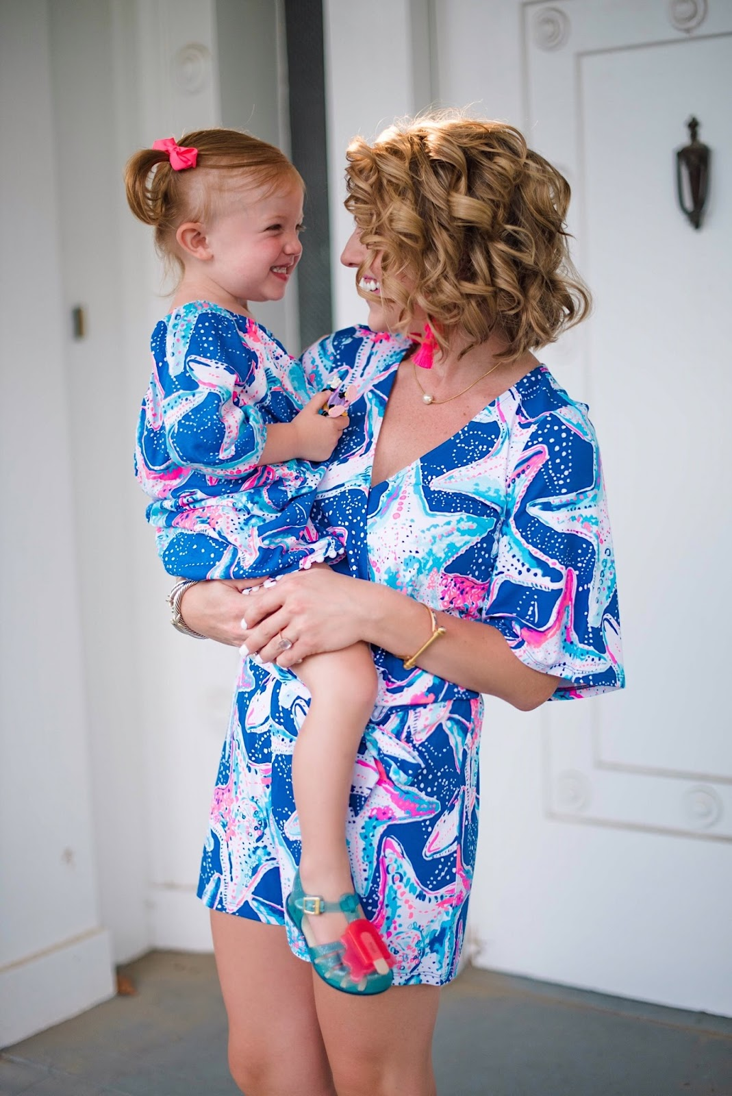 Mommy and me Lilly Pulitzer - Something Delightful Blog