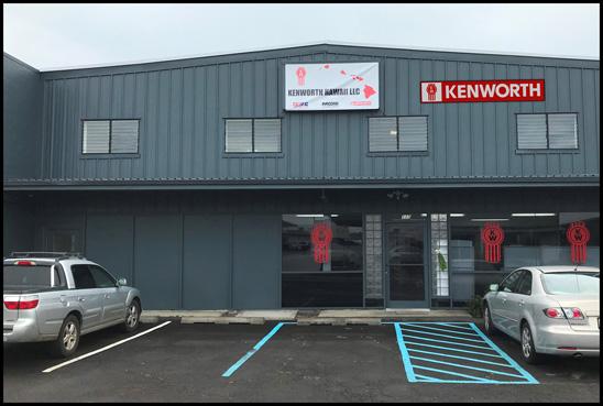 Kenworth Hawaii New Hilo Dealership