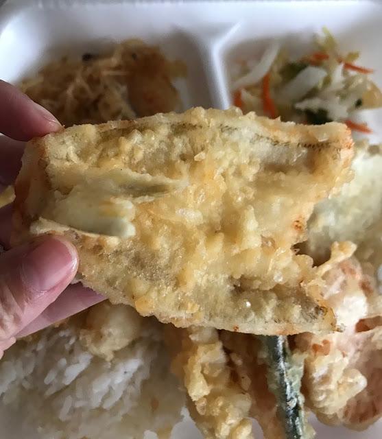 Momoya, Camberwell, tempura meal