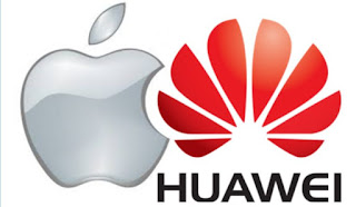 Huawei 📱 broke the back of the Apple📲
