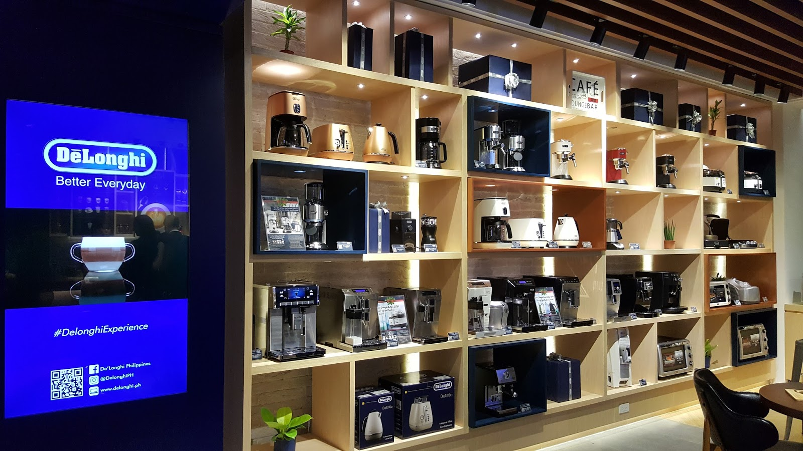 Manila fashion observer the first delonghi concept store in manila it used to be that small kitchen appliances were something that you use on the countertop and then stored right after using but delonghi changed that for solutioingenieria Image collections
