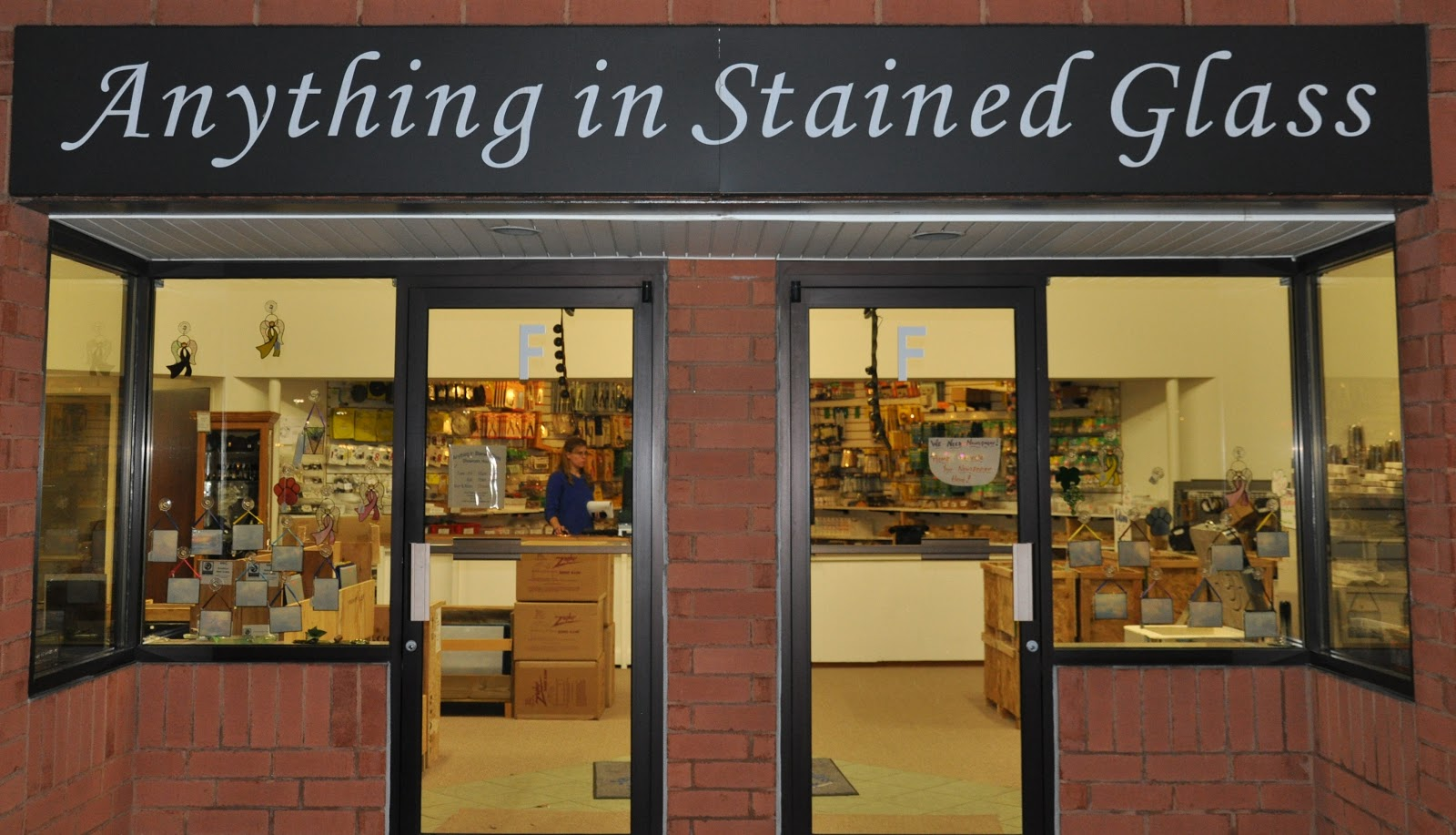anything in stained glass She's Crafty: Best Stained Glass Shop EVER! anything in stained glass