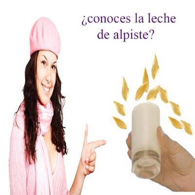 Conoces la leche de alpiste? Leche de alpiste para bajar de peso