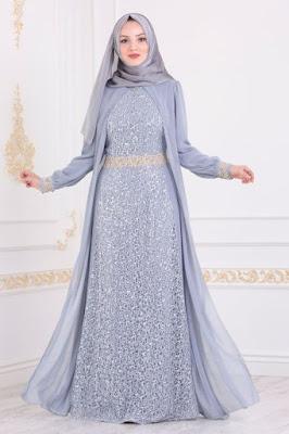 Baju Model Gamis Syar'i Populer Terbaru 2019