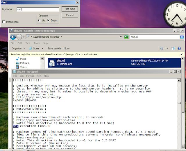mengedit file php.ini