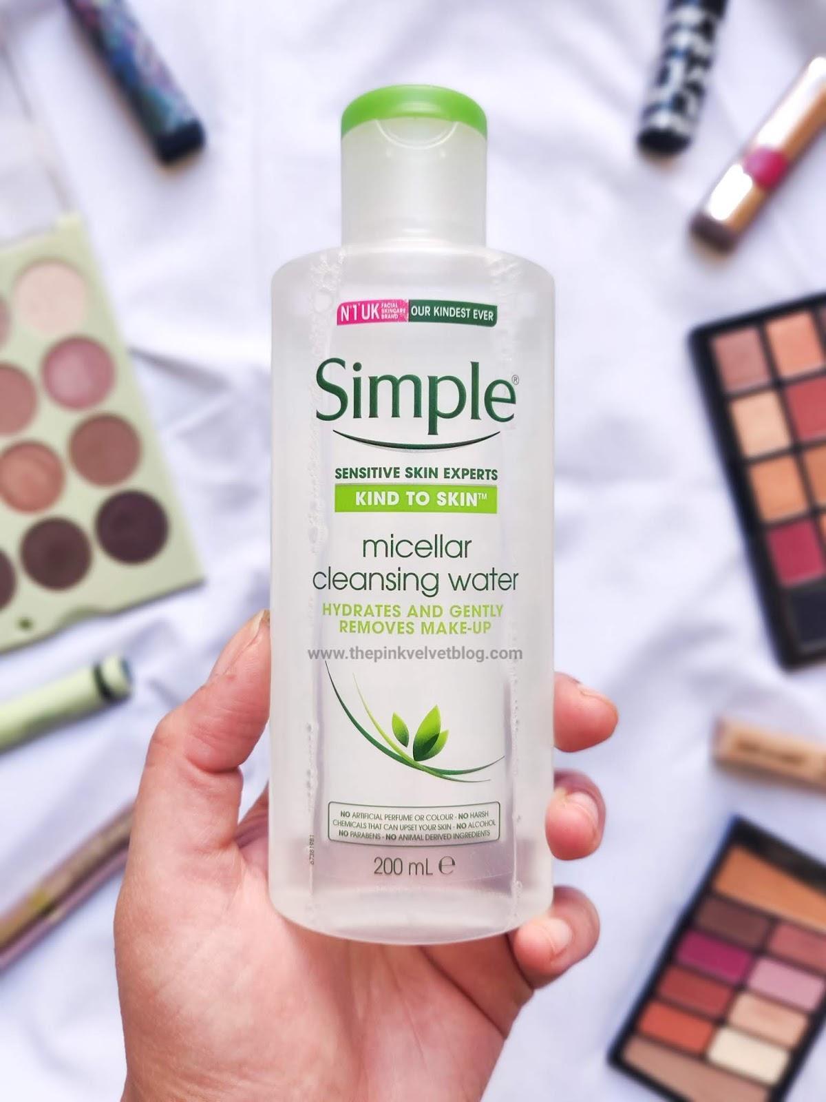 Simple Skincare Micellar Water - Review | Sensitive Skin Experts