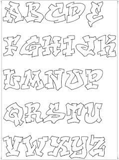 Graffiti abc, graffiti lettering, graffiti alphabet fonts a-z, graffiti styles alphabet