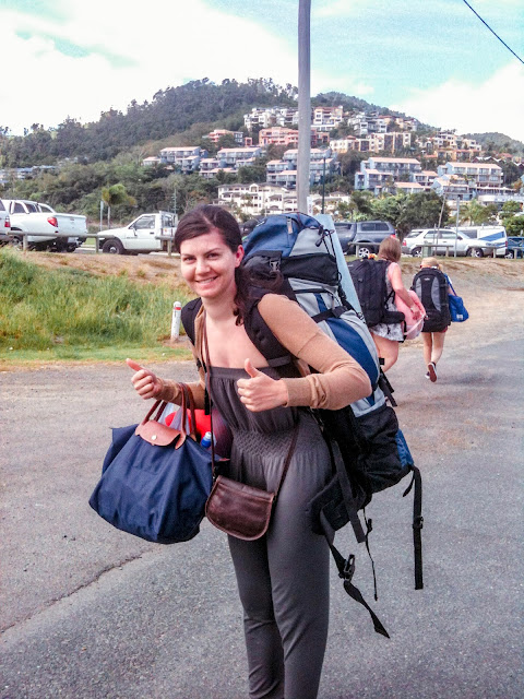 What home means to me: backpacker life