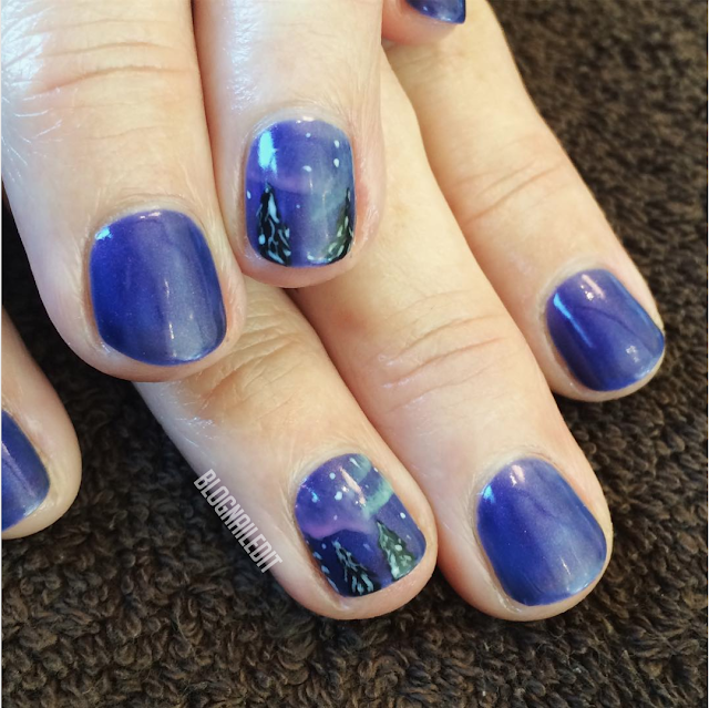Northern Lights by Nailed It @ www.blognailedit.co