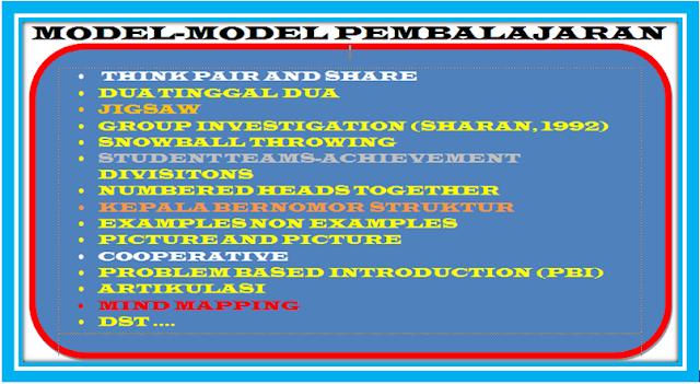 Model Pembelajaran dan langkah-Langkahnya