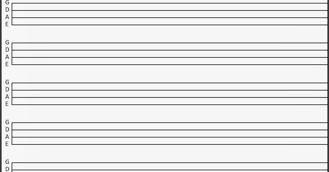 Reviews >> Guitar Gear Reviews: More Blank Tab Sheets
