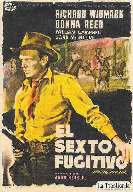 El Sexto Fugitivo - Programa de Cine - Richard Widmark - Donna Reed