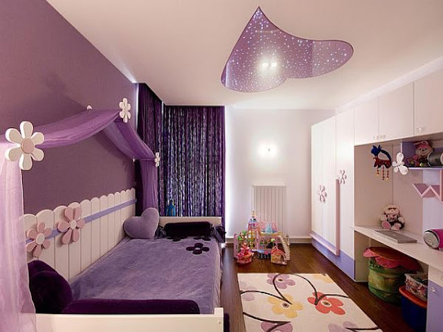 Interior Design Bedroom For Teenage Girls Purple