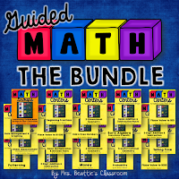 Guided Math Centers Bundle