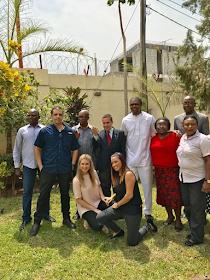 Photos: Kanu Nwankwo Received By The Isreal Ambassador