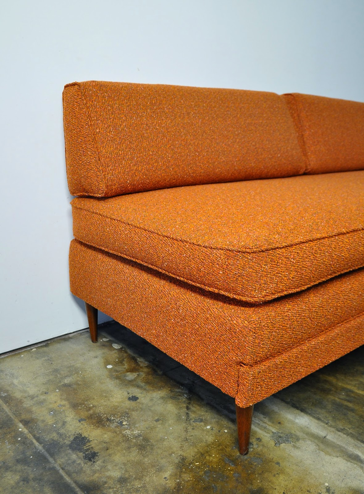 Select Modern Danish Modern Sofa Or Daybed With Trundle