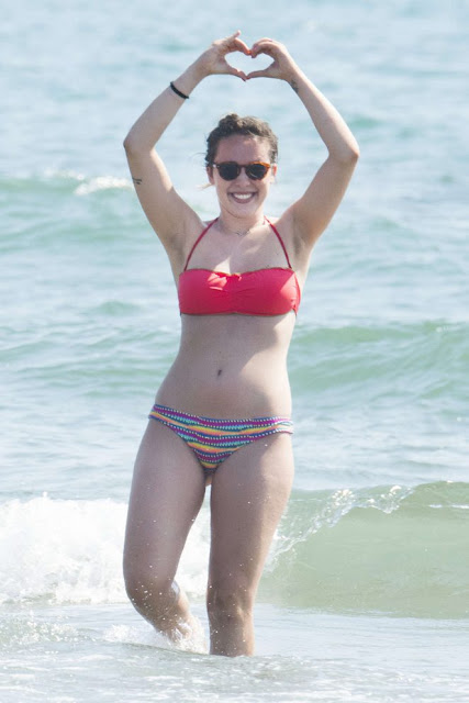 Aurora Ramazzotti in Bikini in Forte dei Marmi