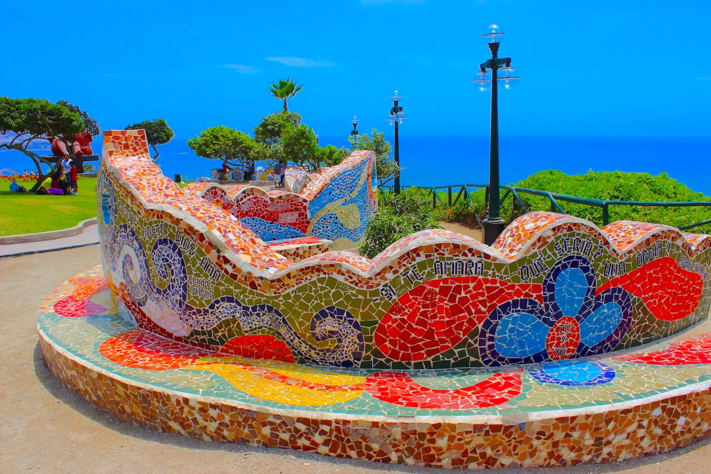 park of love parque del amor lima