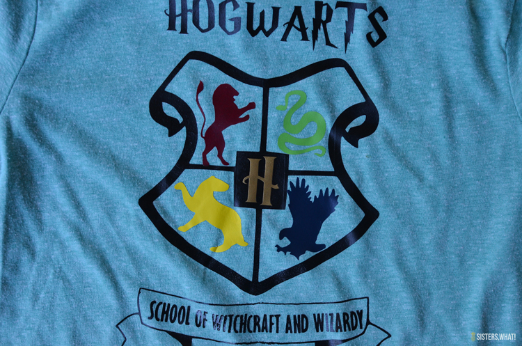 hogwarts shirt school of witchcraft and wizardy