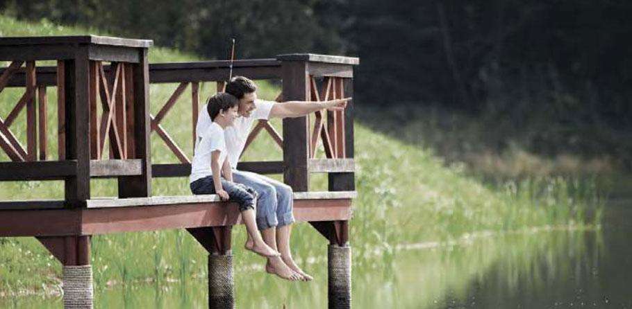 nature lifestyle at Lake Grande Condo
