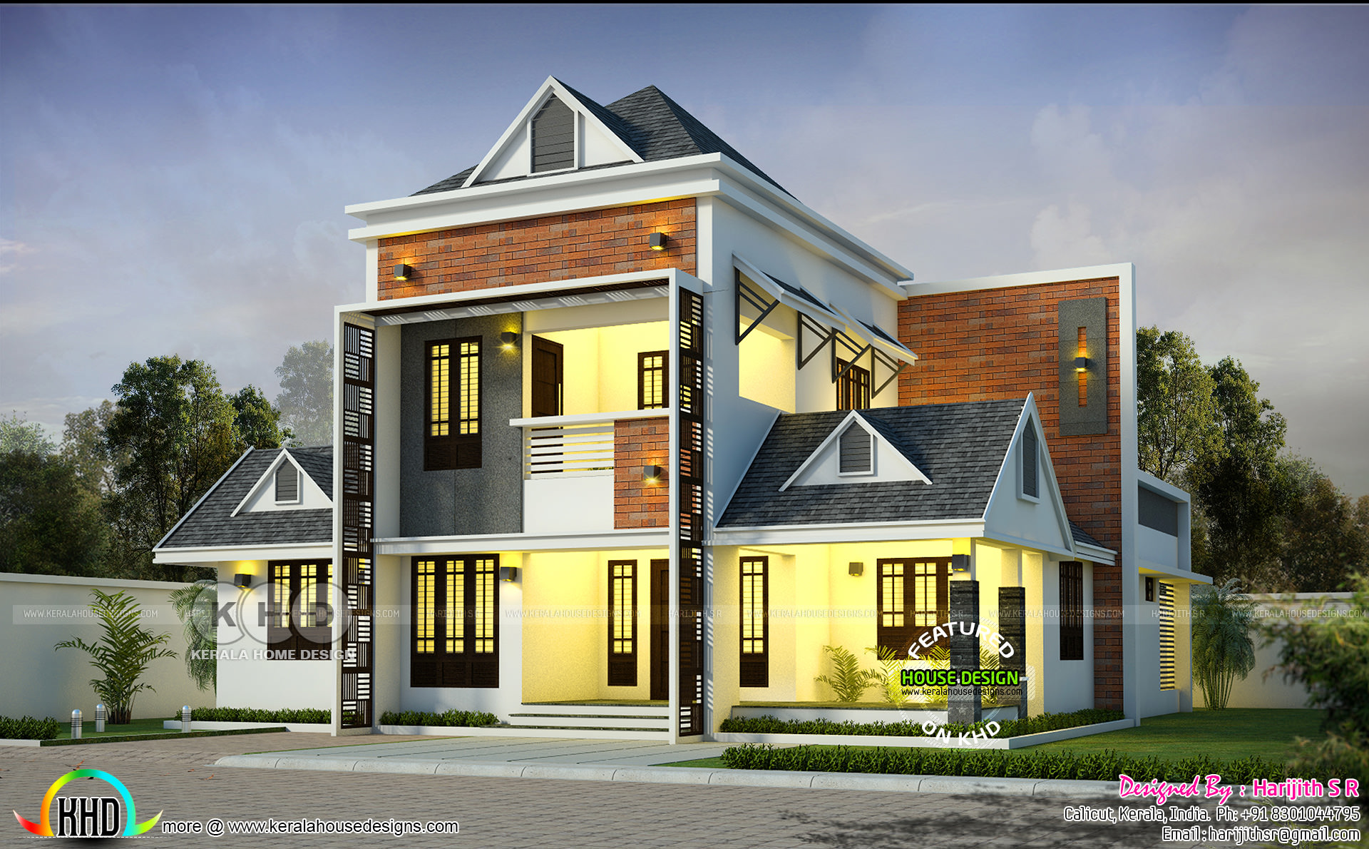 Home Design Ideas For 2019: Kerala Home Design And Floor Plans