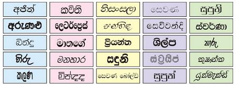 Download JITH Tech World: 1,136 Sinhala Fonts Collection ZIP ...