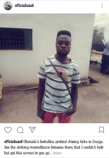 Olamide's Lookalike Spotted In Enugu State