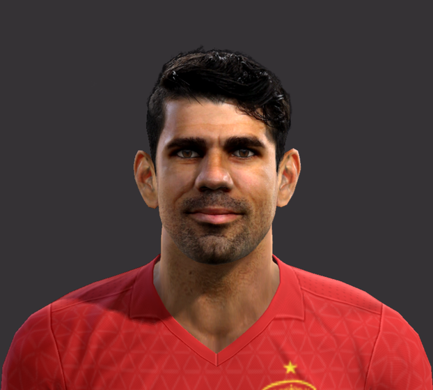 PES 2013 Diego Costa Face by L.G.R Facemaker