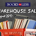 Books For Less Warehouse Sale | August 2017