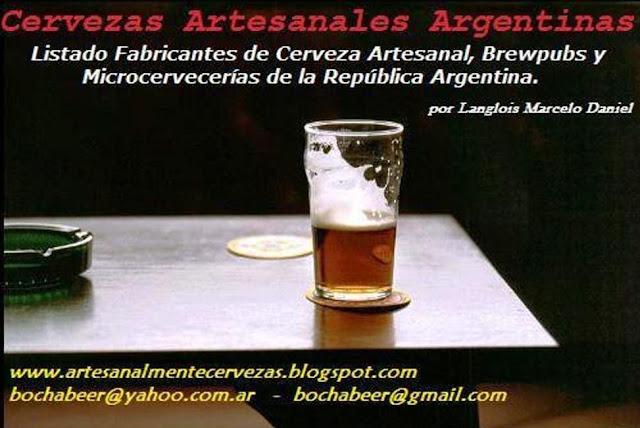 Gazetilla Del Gran Buenos Aires Cervezas Artesanales De