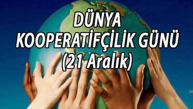 dünya kooperatifçilik günü ile ilgili yazı