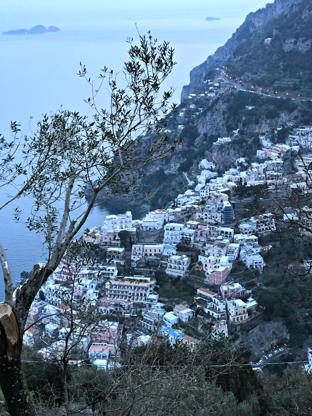 Positano Italy hillside