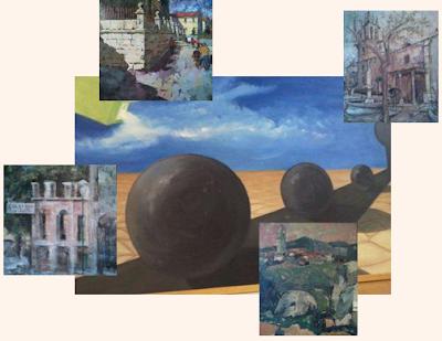 Pinturas en la Sede