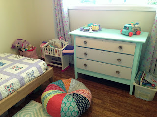 OC's, #green, kids bedroom, pouff, HomeSense, toys, books, kids, vintage toys, painted furniture, painted kids furniture