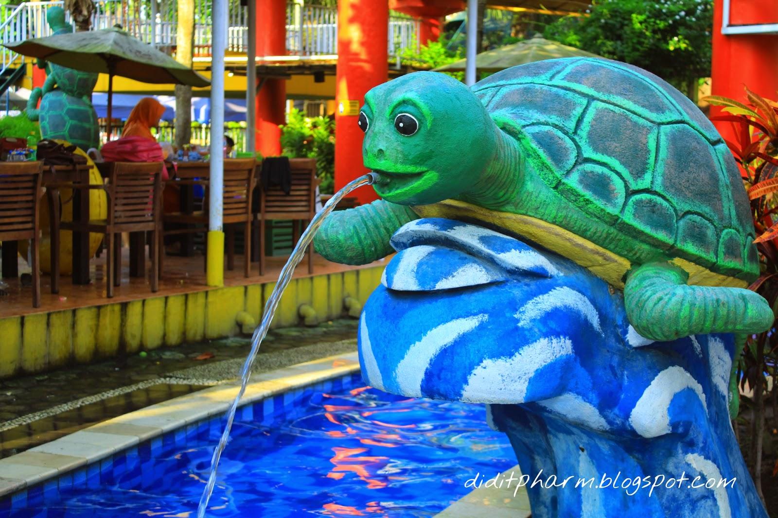 bersantai di tengah kota kura kura waterpark lazwardy journal rh lazwardyjournal com