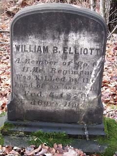 Gravestone of William Elliot