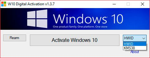 W10 Digital Activation 1.3.7 Portable