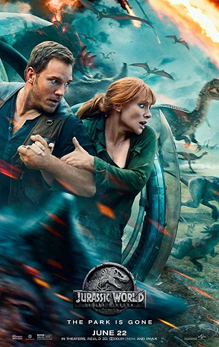 Jurassic World Fallen Kingdom 2018 Dual Audio Hindi 850mb 720p HDCAM Download
