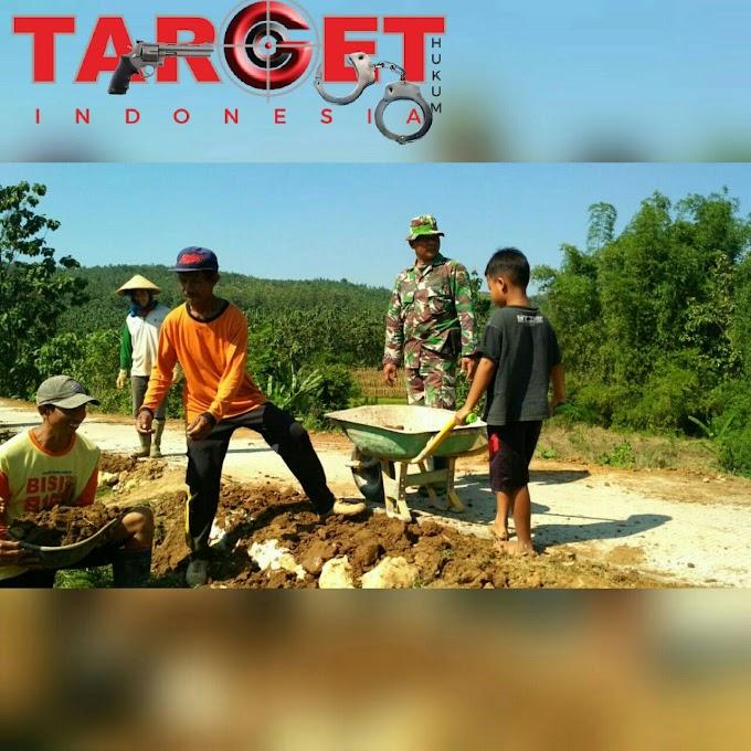 Didin Saifudin Sang Pejuang Kecil Yang Tulus Membantu TNI di TMMD Reg 101