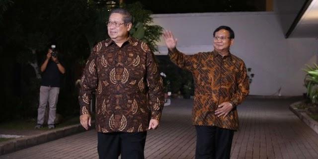 Prabowo dan SBY prihatin dengan kondisi bangsa saat ini